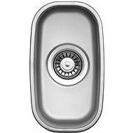 Sinks UNDERMOUNT 195 V 0,6 mm matt - Mosogatótálca