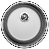 SINKS ROUND 450 V 0,6 mm matt - Rozsdamentes acél mosogató