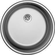 SINKS ROUND 450 M 0,6 mm matt - Rozsdamentes acél mosogató