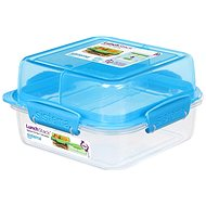 Sistema Lunch Stack Square To Go Blue Online 1.24L (4)