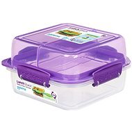 Sistema Lunch Stack Square To Go Purple Online 1.24L (4) - Edény