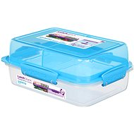 Sistema Lunch Stack Rectangle To Go Blue Online 1.8L - Edény