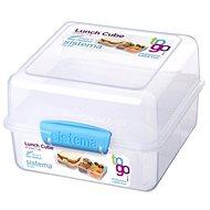 SISTEMA 1.4L Lunch Cube To Go Blue Online Range - Uzsonnás doboz