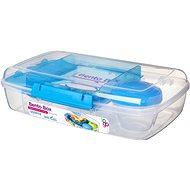 SISTEMA Bento Box To Go kék uzsonnás doboz, 1.76 L - Uzsonnás doboz