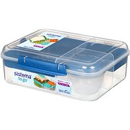 SISTEMA 1,65L Bento Lunch To Go Blue Online Range - Uzsonnás doboz