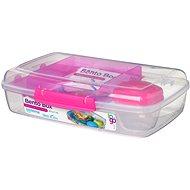 SISTEMA 1.76L Bento Box rózsaszínű uzsonnás doboz - Uzsonnás doboz