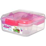 SISTEMA Bento To Go rózsaszínű uzsonnás doboz, 1.25 L - Uzsonnás doboz
