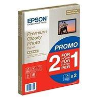 Epson Premium Glossy Photo A4 15 lap + második csomag papír ingyen - Fotópapír