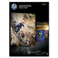 HP Advanced Glossy Photo Paper A4 - Fotopapír