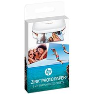 HP ZINK Sticky-Backet Photo Paper - Fotópapír