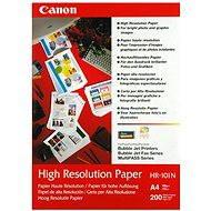 Fotópapír Canon HR-101 A4 - Fotopapír