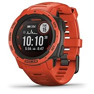 Garmin Instinct Solar, Flame Red - Okosóra