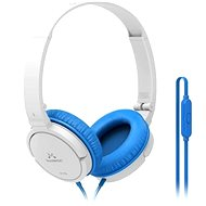 SoundMAGIC P11S fehér-kék - Fej-/fülhallgató