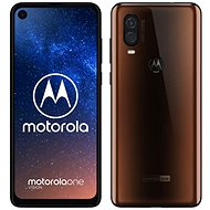 Motorola One Vision bronz - Mobiltelefon