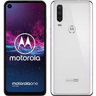 Motorola One Action, fehér - Mobiltelefon