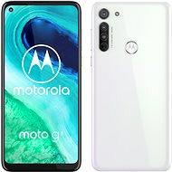 Motorola Moto G8 64GB Dual SIM - fehér - Mobiltelefon