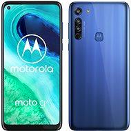Motorola Moto G8 64GB Dual SIM - kék - Mobiltelefon