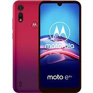 Motorola Moto E6s 32GB Dual SIM - piros - Mobiltelefon