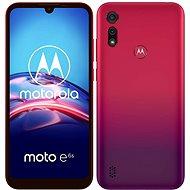 Motorola Moto E6s Plus 64 GB Dual SIM piros - Mobiltelefon