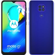 Motorola Moto G9 Play 64GB kék - Mobiltelefon