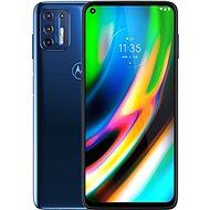 Motorola Moto G9 Plus 128 GB kék - Mobiltelefon
