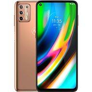 Motorola Moto G9 Plus 128 GB arany - Mobiltelefon