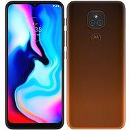 Motorola Moto E7 Plus narancsszín - Mobiltelefon