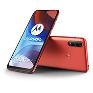 Motorola Moto E7 Power piros - Mobiltelefon