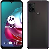 Motorola Moto G30 fekete - Mobiltelefon