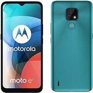 Motorola Moto E7 kék - Mobiltelefon