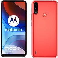 Motorola Moto E7i Power piros - Mobiltelefon