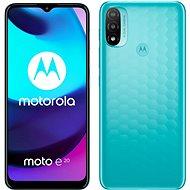 Motorola Moto E20 kék - Mobiltelefon