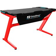 Sandberg Fighter Gaming Desk - Játékasztal
