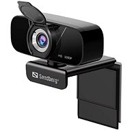 Sandberg USB Chat Webcam 1080P HD, fekete - Webkamera