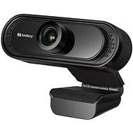 Sandberg USB Webcam Saver 1080P, fekete - Webkamera