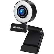 Sandberg Streamer USB Webcam, fekete - Webkamera