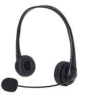 Sandberg USB Office Headset mikrofonnal, fekete - Fej-/fülhallgató