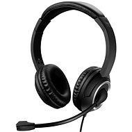 Sandberg MiniJack Chat Headset mikrofonnal, fekete - Fej-/fülhallgató