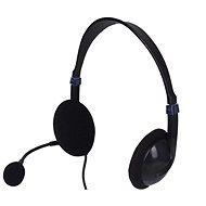 Sandberg SAVER USB Mikrofonos fejhallgató, fekete - Fej-/fülhallgató