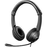 Sandberg MiniJack SAVER Mikrofonos fejhallgató, fekete - Fej-/fülhallgató