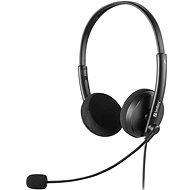 Sandberg PC MiniJack Office Saver Headset fekete - Fej-/fülhallgató