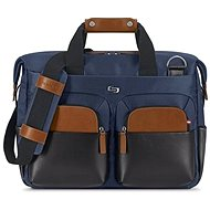 Solo Sag Harbor Briefcase Blue 15.6 laptop táska - Laptoptáska