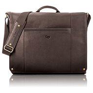 "Solo Hudson Leather Messenger Espresso 16"" - Laptoptáska"