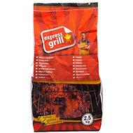 EXPRESS GRILL faszén 2,5 kg - Grillszén