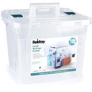 Beldray átlátszó tárolódoboz (38 literes) - Tárolódoboz