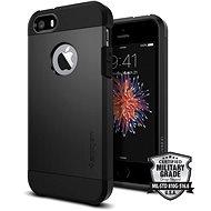SPIGEN Tough Armor Black iPhone SE/5s/5 - Mobiltartó