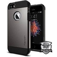 SPIGEN Kemény páncél Gunmetal iPhone SE/5s/5 - Mobiltartó