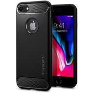 Spigen Rugged Armor Black iPhone 7/8 - Mobiltartó