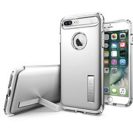 Spigen Slim Armor Satin Silver iPhone 7 Plus - Védőtok