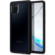 Mobiltelefon hátlap Spigen Ultra Hybrid Black Samsung Galaxy Note10 Lite - Kryt na mobil